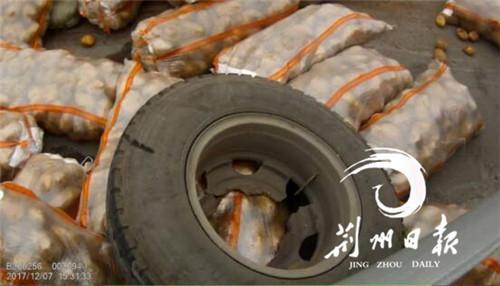 """二广高速荆州段路面出现一片""""小黄人"""" 就因为…"""