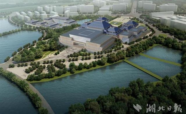 图为湖北省博物馆三期扩建总体规划图