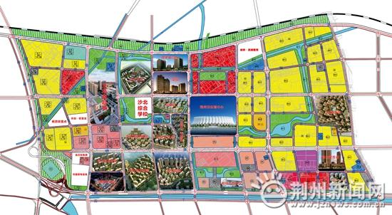 """规划图曝光!荆州这六条道路开建 打造""""三横六纵""""路网"""