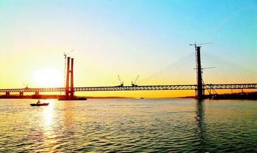荆岳铁路长江大桥_荆州这座长江大桥将通车 去公安、石首多了新选择—荆州社会 ...