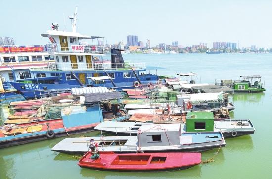 长江流域进入禁渔期 公安县渔民将渔船封存停靠