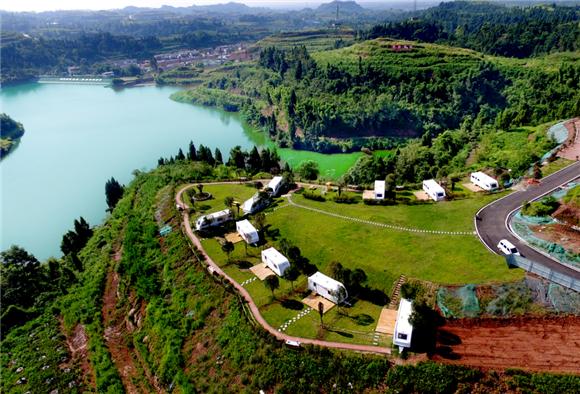 再现陆游诗歌中的农家山水 岳池农家文化园区拓展农旅扶贫路径