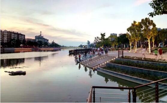 """洪湖""""一河两岸""""工程天富娱乐注册一期完工 曝二期海量美图"""