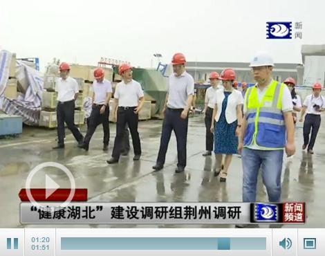 """""""健康湖北""""建设调研组荆州调研 要求规范诊疗"""