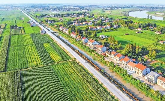 荆州区弥里公路主体工程基本完工 预计10月通车