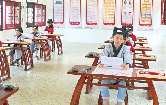 传承经典!沙市区观音��镇新阳村举办暑期国学课堂