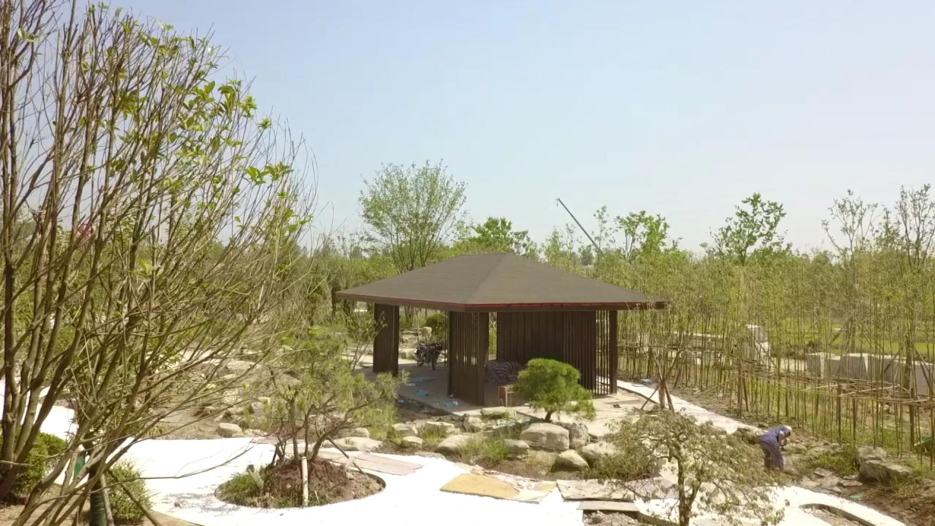 关注荆州园博会:日本园 枯山流水 禅意净心