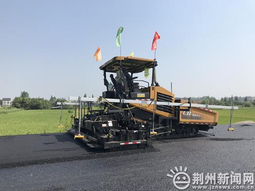 沪渝高速公路新建车马阵互通工程预计9月完工通车