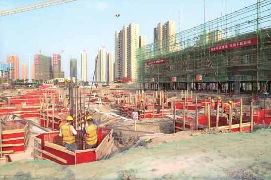 项目进展:沙北实验学校及地下停车场项目加快建设