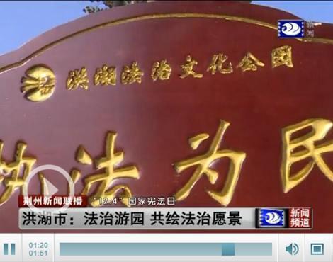 【国家宪法日】洪湖市:法治游园 共绘法治愿景