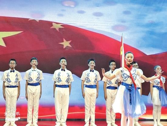 公安县2019年中小学生国学经典诵读展演活动举行