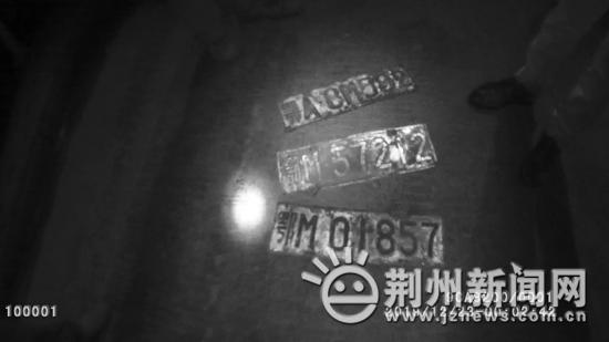 荆州一货车司机违规使用套牌 被罚5000元记12分