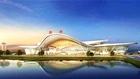 特约记者行:亮眼!机场航站楼展雏形
