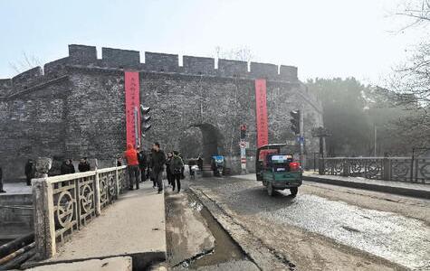 荆州护城河西门外危桥有望于今年3月正式开建