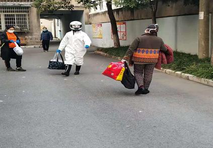 荆州市供销社临时党支部奋战抗疫一线