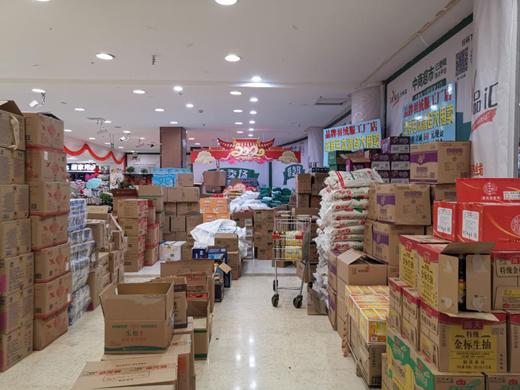 荆州市商务局三种模式保障市民生活需求