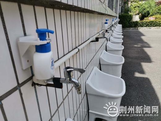 荆州初三学子复课在即 记者实地探访学校准备工作