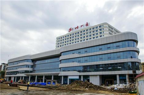 特约记者行:一医新大楼即将投入使用