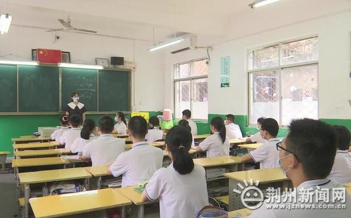 久违了,我的校园!荆州三万多名初二学生复学