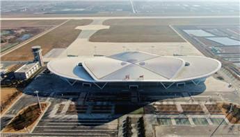 特约记者行:漂亮!即将开航的荆州机场